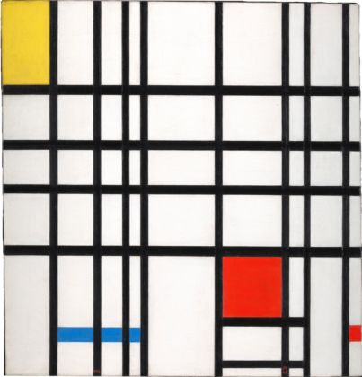 Piet Mondrian, Composition with Yellow, Blue and Red, 1937-42 - © DACS, London/VAGA, New York 2014 - Courtesy Tate Collection: Purchased 1964
