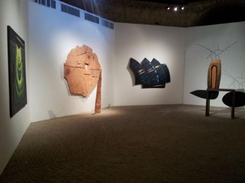 Rewind. Arte a Napoli 1980-1990 - veduta della mostra presso Castel Sant'Elmo, Napoli 2015