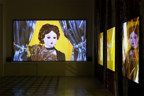 T.J. Wilcox, 2014 - Installation view at Galleria Raffaella Cortese, Milano - photo Lorenzo Palmieri