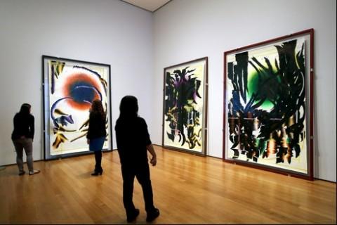 The Forever Now - veduta della mostra presso il MoMA, New York 2014
