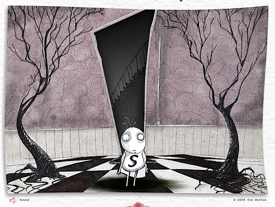 Tim Burton artista visivo
