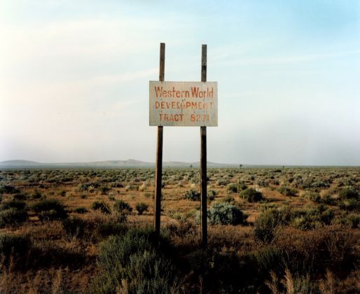 Wim Wenders, Western World Development, Near Four Corners, California, 1983 - Wim Wenders, Wenders Images, Verlag der Autoren