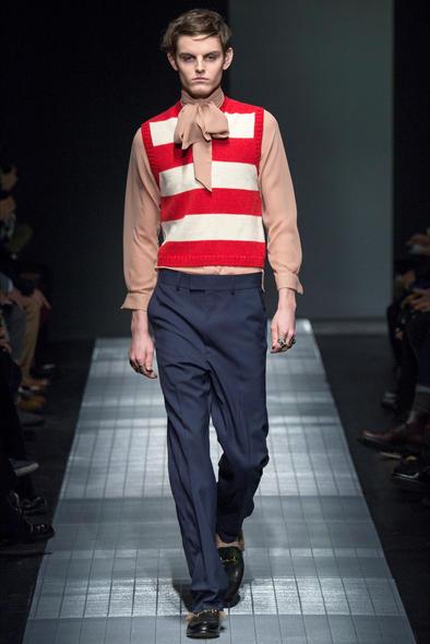 Milano Fashion Week - Gucci Uomo FW 2015-16