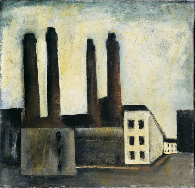 Mario Sironi, Paesaggio urbano (1927)
