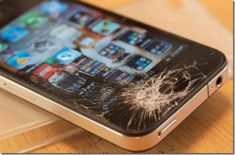 Un iPhone rotto