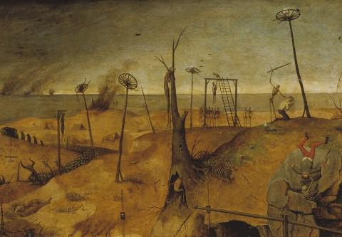 Pieter Bruegel il Vecchio, Trionfo della Morte (dettaglio, 1562)