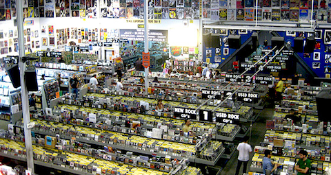 Amoeba Records, Los Angeles