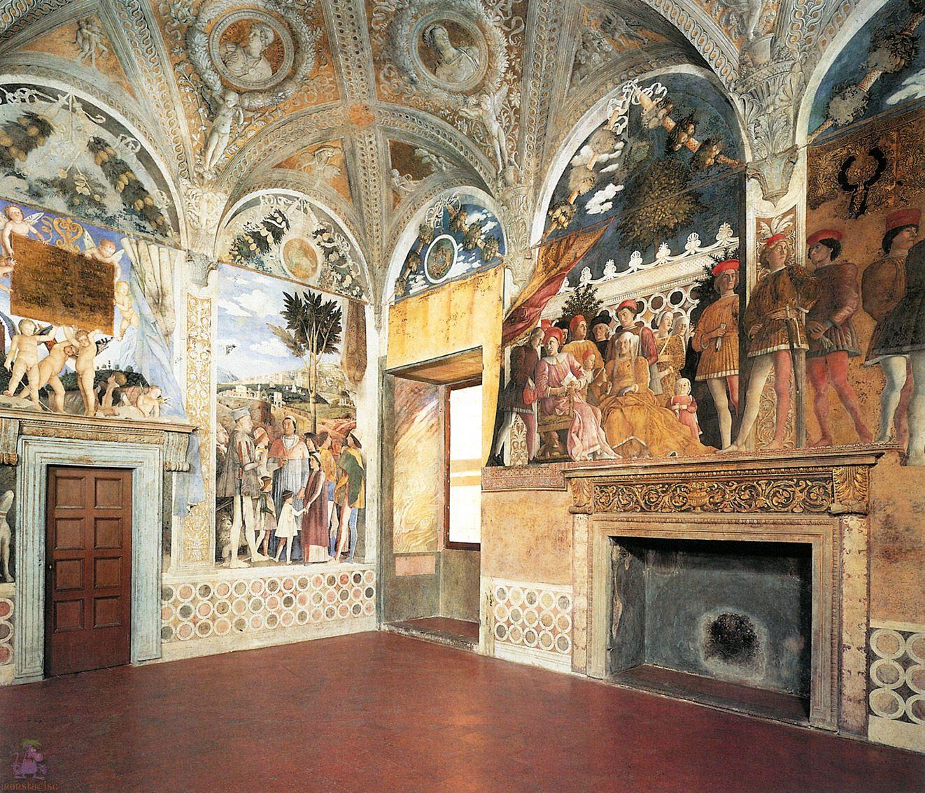 Immagini della camera degli sposi di andrea mantegna il for Mantova camera sposi