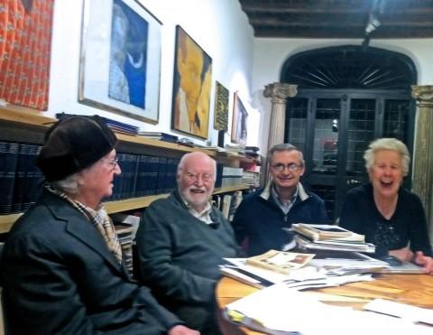 Vasco Bendini, Maurizio Calvesi, Gabriele Simongini e Matteo Monferini, 27 dicembre 2014
