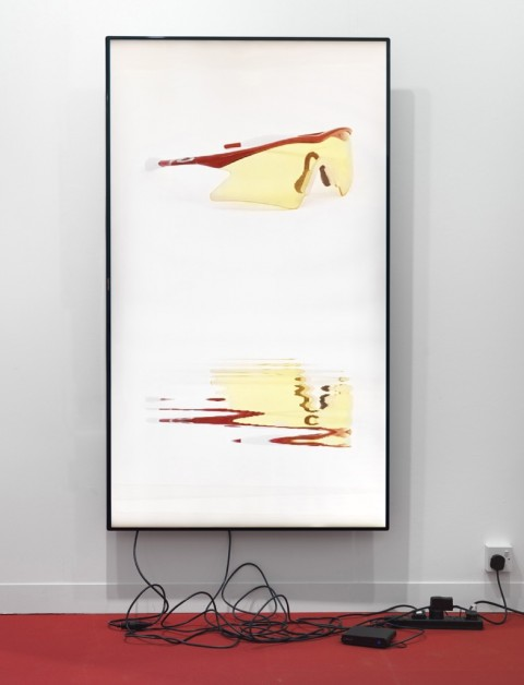 Cory Arcangel, Sports Products 2 : Lakes, 2014 - photo Ken Adlard - © Cory Arcangel - Courtesy Cory Arcangel e Lisson Gallery