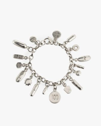 Damien Hirst, Pill charm Bracelet. Photo Credits: Sherry Griffin