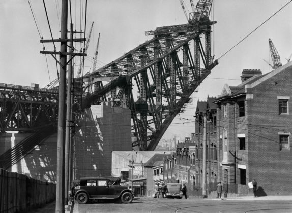 Emil Otto Hoppé, Sydney Harbour Bridge from the South Side, 1930, Australia, Modern Digital Print, © E.O. Hoppé Estate Collection / Curatorial Assistance