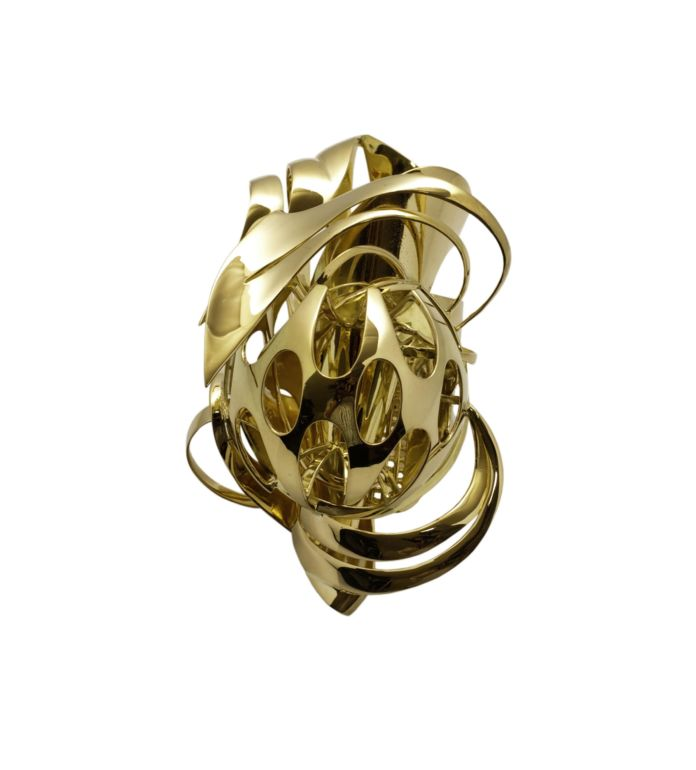 Frank Stella, Untitled, 2010, Gold, Edition of 5, The Gallery Mourmans