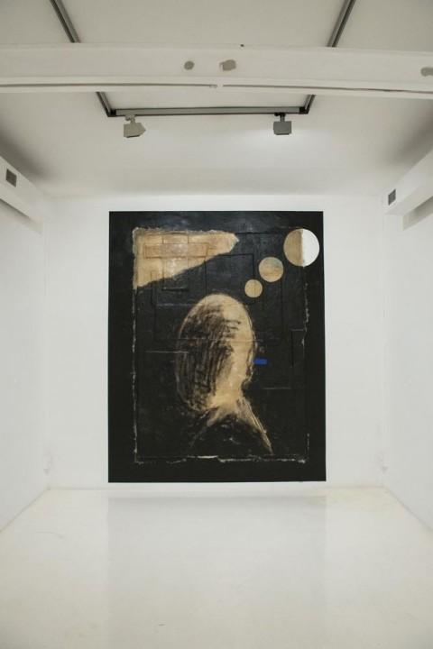 Gianni Dessì, Dentro e Fuori, 2014 - Fondazione Pastificio Cerere, Roma - photo Andrea Musico