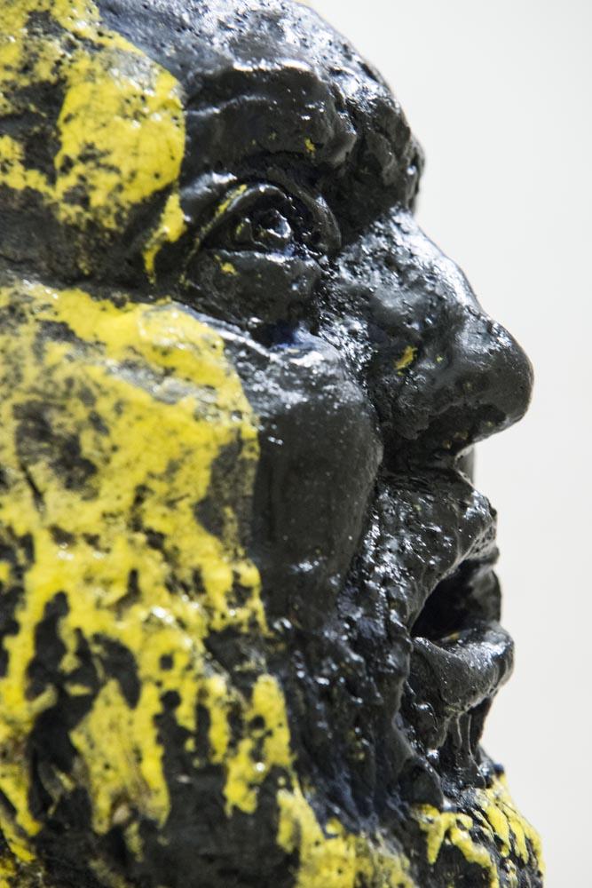 Gianni Dessì, Vox (dettaglio), 2014 - Fondazione Pastificio Cerere, Roma