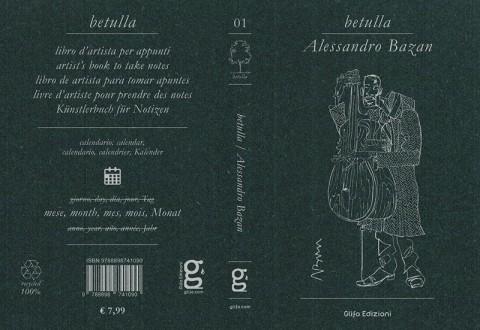 Glifo Edizioni - Betulla Alessandro Bazan - Copertina distesa
