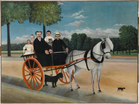 Henri Rousseau, Il biroccino di papà Junier, 1908 - Musée de l'Orangerie, Parigi - Collection Jean Walter et Paul Guillaume - © RMN - Grand Palais (Musée d'Orsay) – Franck Raux