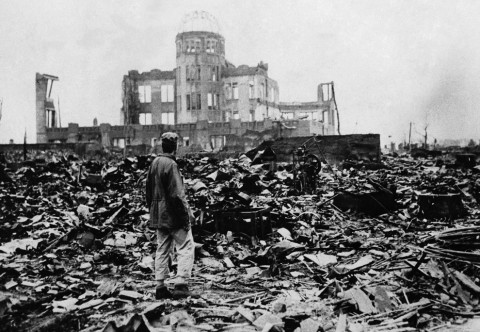 Hiroshima dopo la bomba atomica - AP Photo