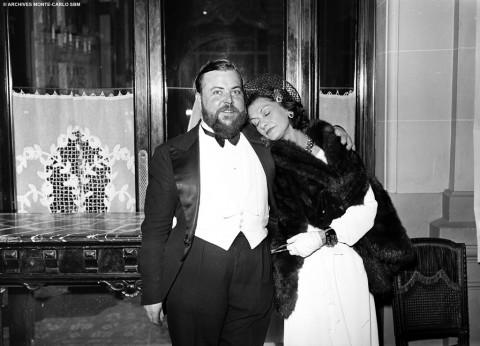 Hotel de Paris - Coco Chanel con Christian Bérard nel 1938 - photo Robert Oggero Archives SBM