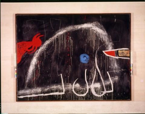 Joan Miró, Senza titolo, 1974 ca. - Fundació Pilar i Joan Miró a Mallorca - © Successione Miró by SIAE 2014 - Foto © Joan Ramon Bonet & David Bonet