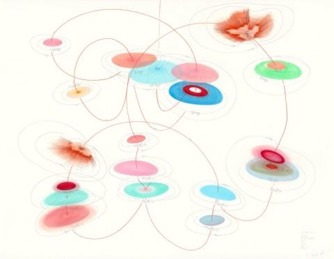 Jorinde Voigt, JA ODER NEIN - Studie 1, 2014 - © the artist; Courtesy, Lisson Gallery, London