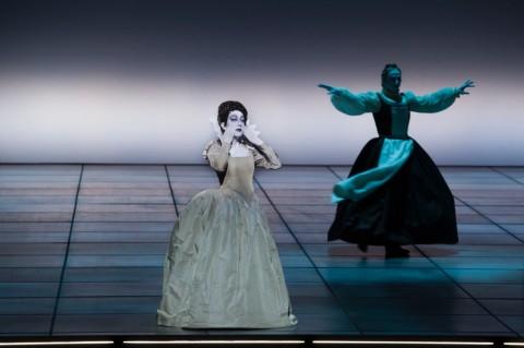 L'Incoronazione di Poppea - regia di Bob Wilson - La Scala, Milano 2015 - photo Andrea Messana-Opéra de Paris