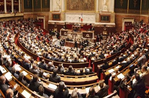 L'Assemblée Nationale francese riunita
