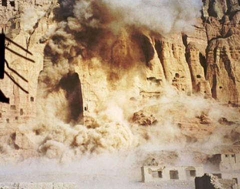 La distruzione dei Buddha di Bamiyan