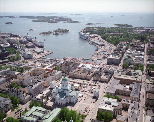 L'area su cui sorgerà il Guggenheim di Helsinki