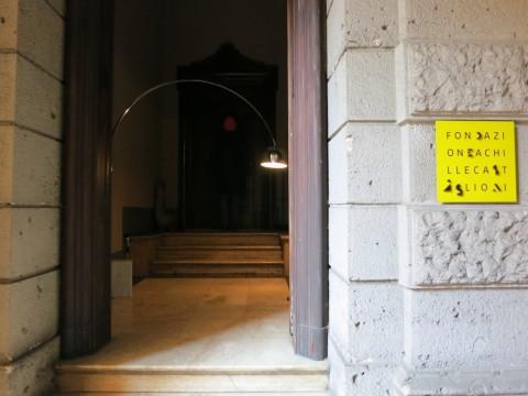 Le regole del gioco - veduta della mostra presso lo Studio Museo Achille Castiglioni, Milano 2015