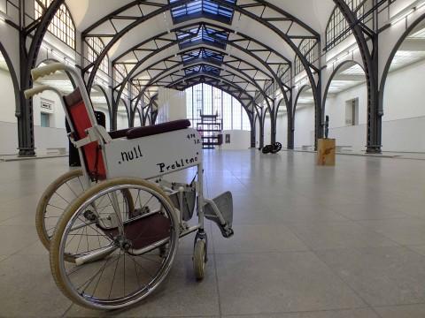 Mariana Castillo Deball – Parergon - veduta della mostra presso l'Hamburger Bahnhof, Berlino 2015 - ©Silvia Neri