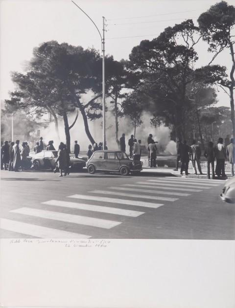 Michele Zaza, Simulazione d'incendio, Molfetta 24 dicembre 1970