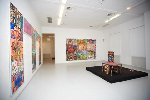 Mostra di August Walla al Gugging Museum - Courtesy Art Brut Center Gugging