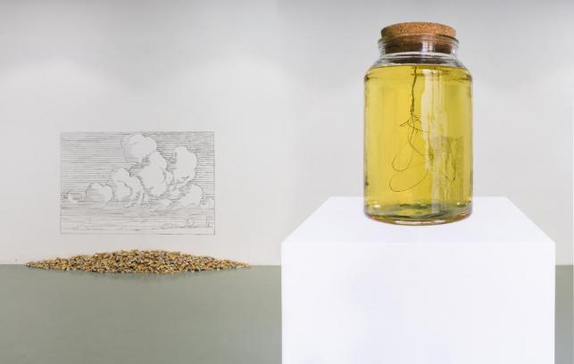 Navid Nuur – About a Work #3 – veduta della mostra presso Zero…, Milano 2015