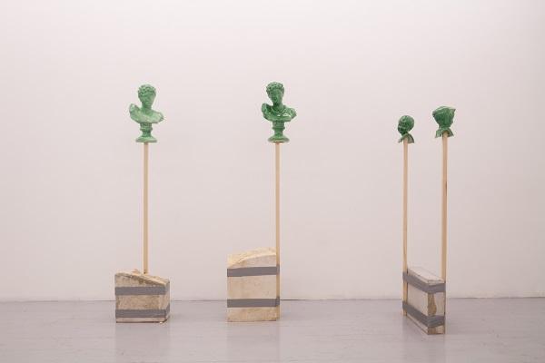 Nero - Love and Loneliness - veduta della mostra presso Artcore, Bari 2015