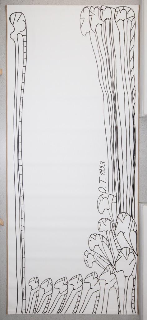 Oswald Tschirtner, Figures,1992 - Courtesy Privatstiftung-Künstler aus Gugging