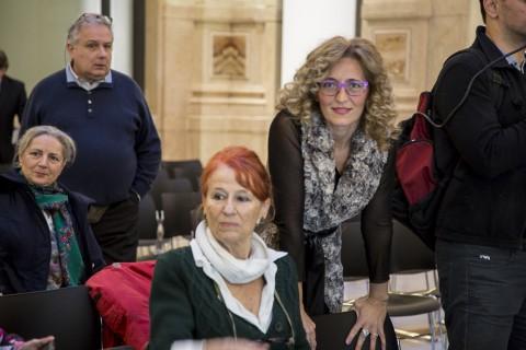 Partorire con l'Arte - Miriam Mirolla con Elena Manzoni di Chiosca, Presidente Fondazione Piero Manzoni