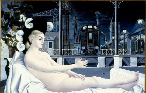 Paul Delvaux, L'Età del ferro