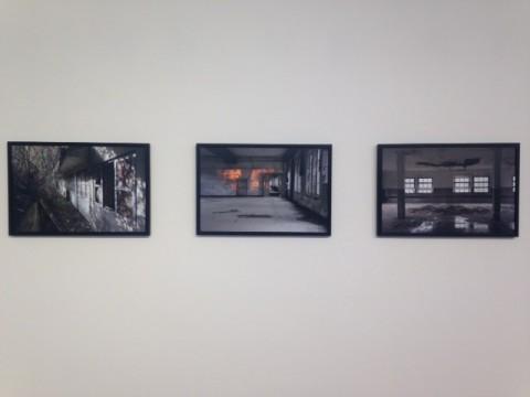 Robert Pettena – Noble Explosion - veduta della mostra presso la Galleria Civica, Modena 2015