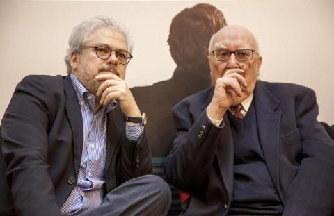 Roberto Andò e Andrea Camilleri