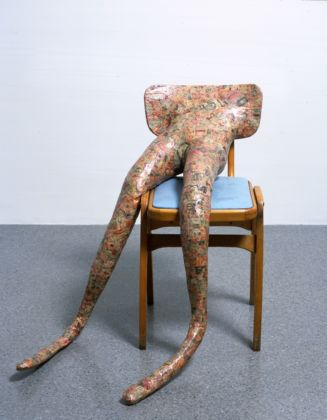 Sarah Lucas, Hysterical Attack (Mouths), 1999 - copyright the artist, courtesy Sadie Coles HQ, London