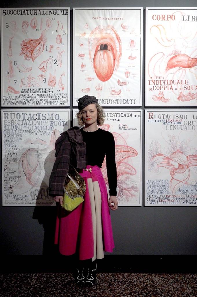 Sissi - Manifesto Anatomico - veduta dell'inaugurazione presso Museo di Palazzo Poggi, Bologna 2015 - photo Roberta Serra : Iguana Press - Courtesy Istituzione Bologna Musei