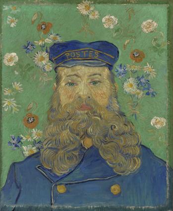Vincent van Gogh, Ritratto di Joseph Roulin, 1889 - © Kröller-Müller Museum, Otterlo