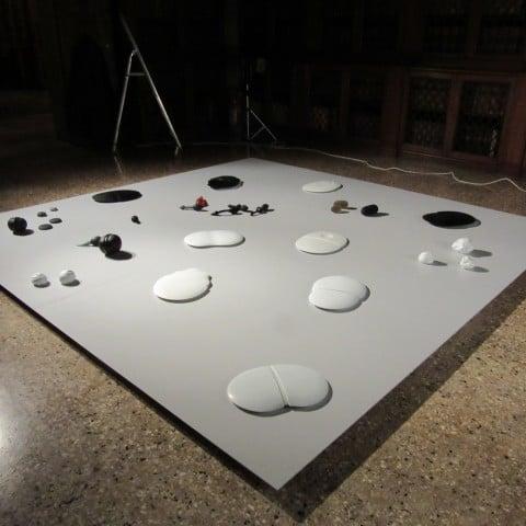 Within Light - Palazzo Loredan, Venezia 2015 - Silvano Rubino, Sensitive light in sensitive form