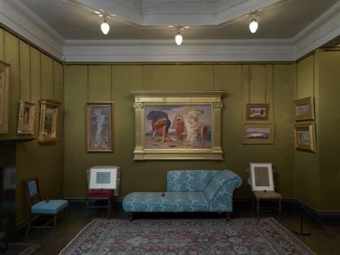 A Victorian Obsession. The Pérez Simón Collection - Leighton House Museum, Londra 2015 - La stanza di seta, Leighton House Museum. Foto Todd-White