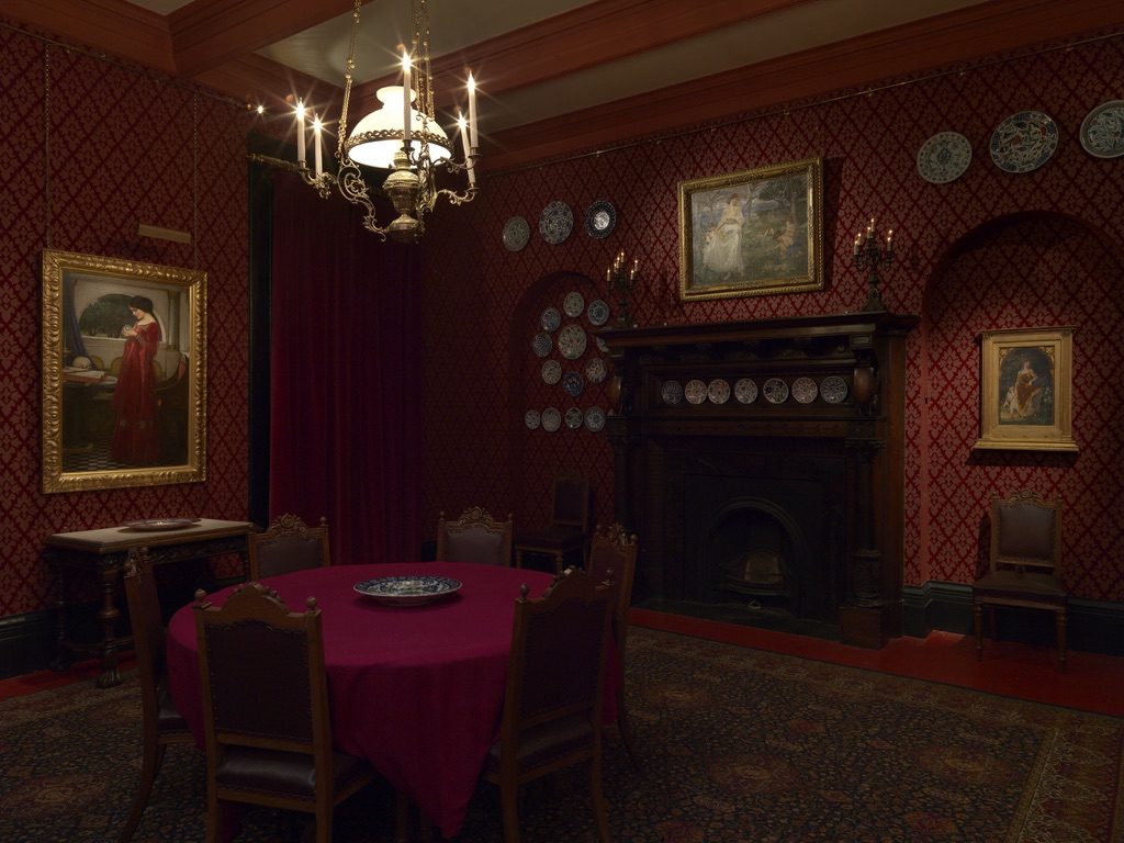 Sala Da The Londra.A Victorian Obsession The Perez Simon Collection Leighton
