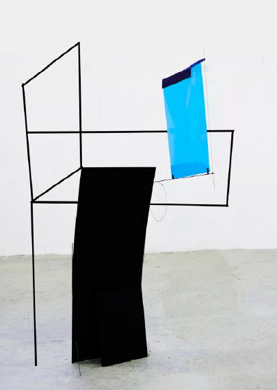 Alice Cattaneo, Scultura Seduta - progetto Moroso Concept 2015 - schizzo per un' ipotesi di scultura a terra