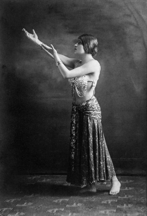 Anonimo, Tina Modotti a Holliwood, 1920-21