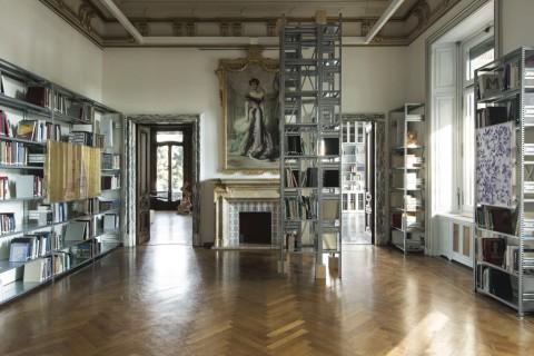 Biblioteca dell'Istituto Svizzero, Roma - photo Agostino Osio
