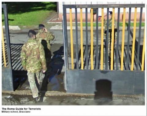 Francesco Amorosino, The Rome Guide for Terrorists - Military School Bracciano